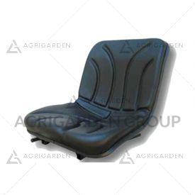 Sedile pcv non molleggiato per carrello elevatore, mietitrebbia, macchina da raccolta