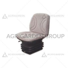 Sedile CE pcv rivestito in tessuto, sospensione pneumatica per trattore, agricoltura