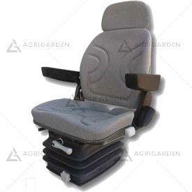Sedile ergonomico con braccioli e regolazione schienale