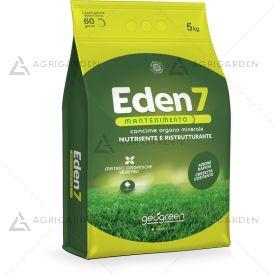 Concime organo minerale EDEN 7 mantenimento in granuli sacco da 5Kg [NPK 15-5-6(20)+micro]