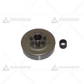 Kit rocchetto pignone campana frizione motosega originale Efco Oleomac 138
