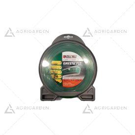 Filo greenline originale Emak, Efco, Oleomac quadrato 3,5 mm, 32 metri per testina decespugliatore