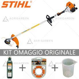 Decespugliatore a scoppio Stihl FS 120 R potente e versatile per uso semiprofessionaleda 30,8cm3.