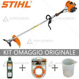 Decespugliatore a scoppio Stihl FS 260 R con elevate prestazioni per uso semiprofessionale da 41,6cm3.