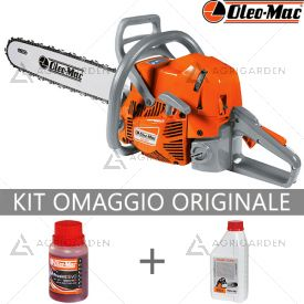 Motosega a scoppio OleoMac GS 651 per uso professionale con motore da 4,7HP e barra da 51cm.