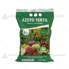 Concime minerale azotato AZOTO FERTIL in granuli sacco da 5Kg, con solfato ammonico.