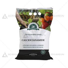 Concime minerale azotato CALCIOCIANAMIDE in granuli a cessione prolungata sacco da 5Kg.