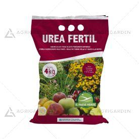 Concime minerale UREA FERTIL in granuli sacco da 4Kg, con azoto ureico.
