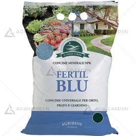 Concime minerale NPK FERTIL BLU in granuli sacco da 25Kg (NPK 12.12.7)