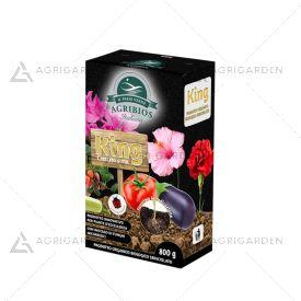 KING Crescita Sana confezione da 800gr, favorisce la crescita delle piante a 360°.
