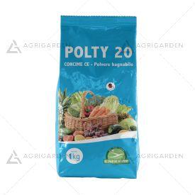 POLTY 20 in polvere busta da 1Kg miscela di microelementi Boro e Rame solfato.