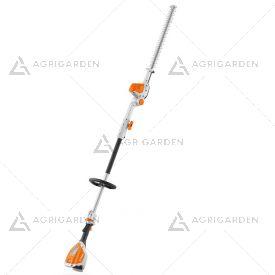 Tagliasiepe allungato a batteria Stihl HLA 56 divisibile con lama da 45cm per uso privato.