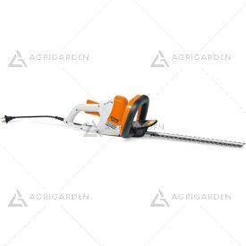 Tagliasiepi elettrico Stihl HSE 42 molto leggero con lama da 45cm.