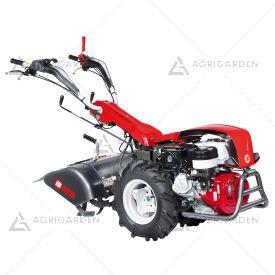 Motocoltivatore a scoppio NIBBI KAM 13 S per uso professionale con motore benzina da 8,4HP e fresa da 70cm.