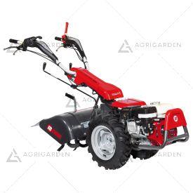 Motocoltivatore a scoppio NIBBI KAM 7 S per uso professionale con motore benzina da 5,8HP e fresa da 60cm.