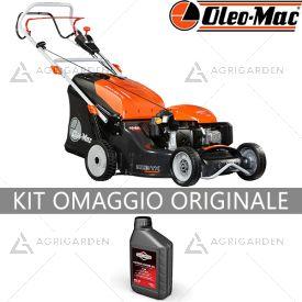 Rasaerba a scoppio trazionato OleoMac MAX 53 TK ALUMINIUM PRO per uso professionale con taglio da 51cm con copertura fino a 2400m2