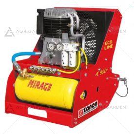 Compressore D'aria con attacco a 3 punti per trattore Zanon MIRAGE T-610 ECO LINE da 25HP con serbatoio da 24Lt.