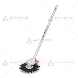Attrezzo reciprocatore RG-KM per sistema Kombi Stihl ideale per rimozione di erba infestante su superfici difficili.