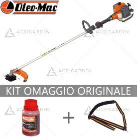 Decespugliatore a scoppio OleoMac SPARTA 381 S molto potente per uso semiprofessionale da 36,2cm3.