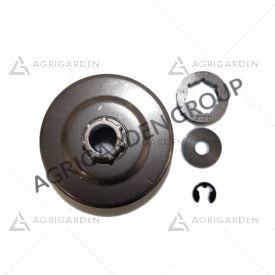 Rocchetto pignone campana frizione originale Stihl motosega 064, 066, ms 640, ms 650, ms 660, ms 661