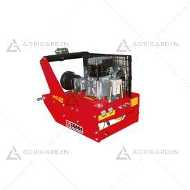 Compressore D'aria con attacco a 3 punti per trattore Zanon SUPER STAR T-558 da 15HP con 2 serbatoio da 14lt e 10lt.