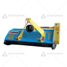 Trinciaerba per trattore con attacco cardano Zanon TFL 130 da 130cm con peso di 220Kg.