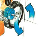 Rasaerba trazionato a scoppio Stihl RM 650 T con larghezza di taglio da 48cm e sacco di raccolta da 70litri.